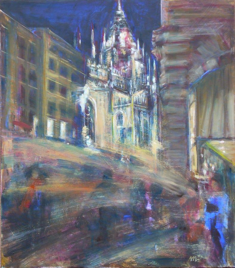 Milano  olio  70x80   2010
