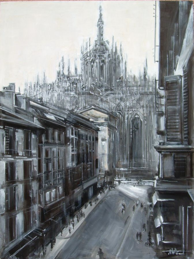 Milano  olio  90x120  2011