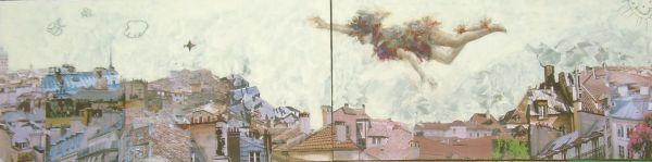 Peter Pan   tecnica mista  2x60x120   2011